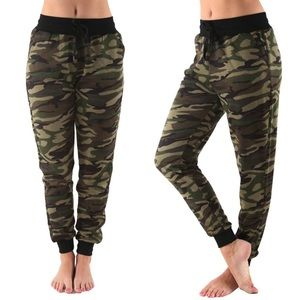 Pants - French Terry Camo Jogger